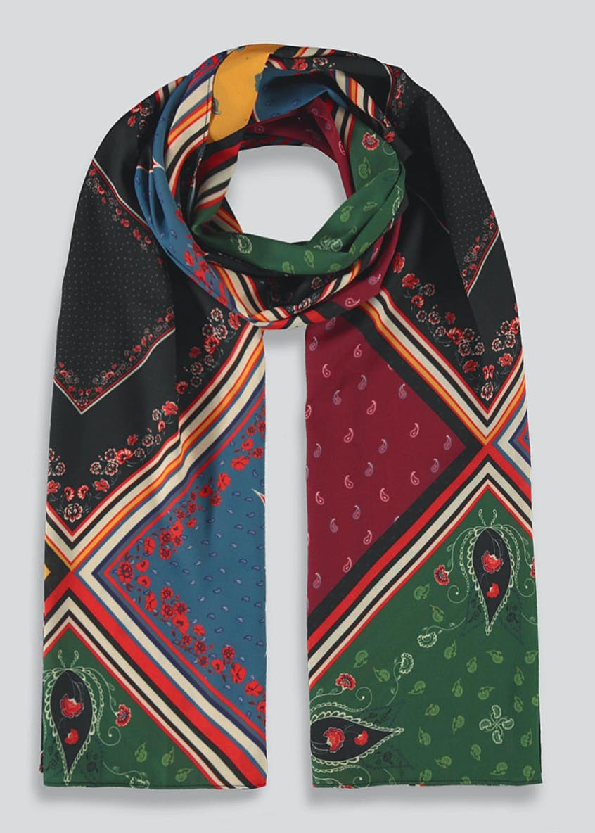 Paisley Patchwork Scarf