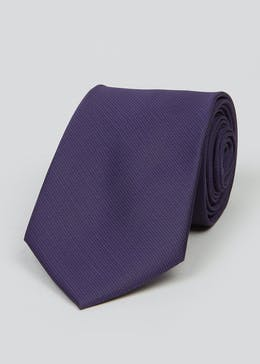 Taylor & Wright Plain Texture Tie