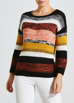 Stripe Slouch Jumper