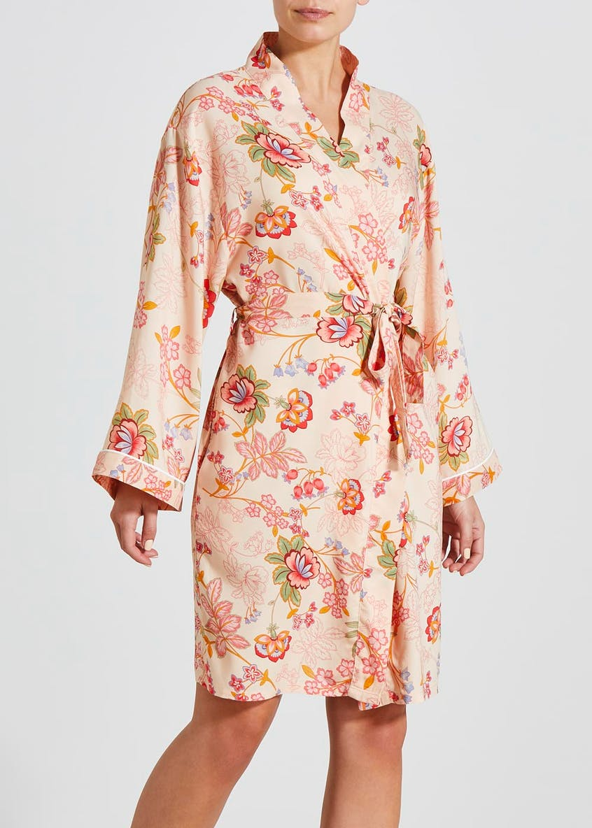 Floral Dressing Gown