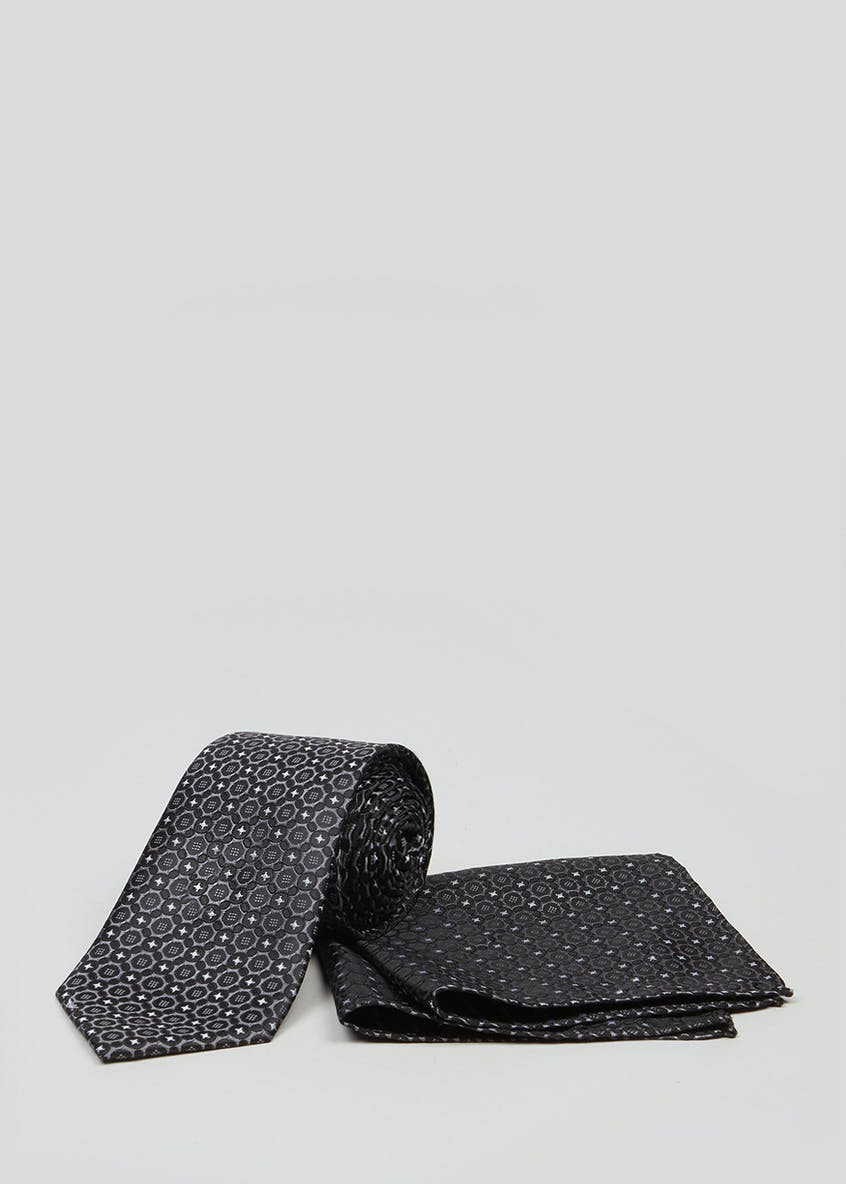 Taylor & Wright Printed Tie & Pocket Square