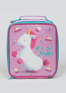 Kids Despicable Me Fluffy the Unicorn Lunch Bag (24cm x 20cm)