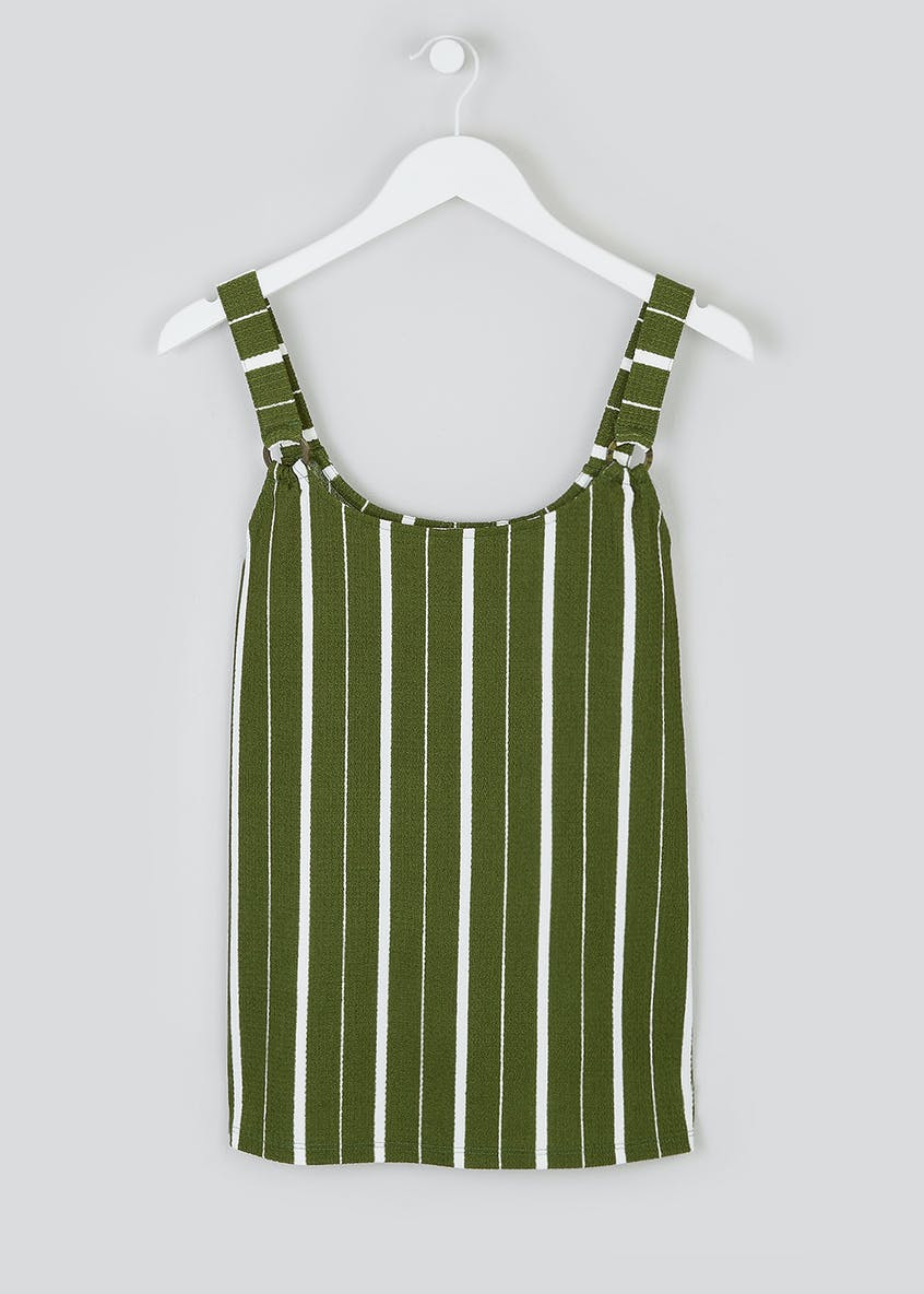 Stripe Ring Co-Ord Vest