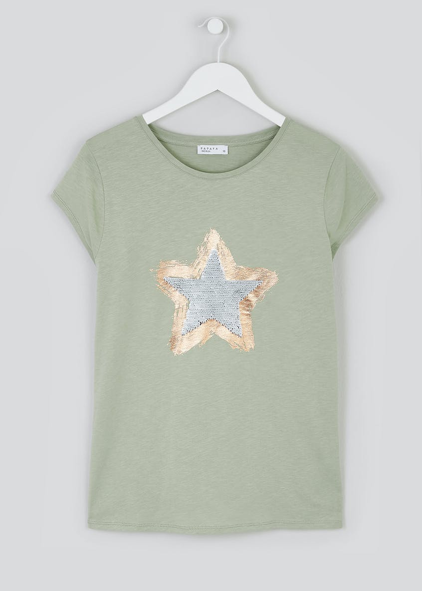 Two Way Sequin Star Top