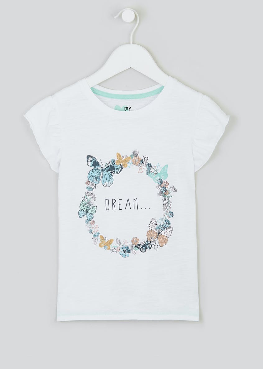 Girls Dream Slogan T-Shirt (4-13yrs)