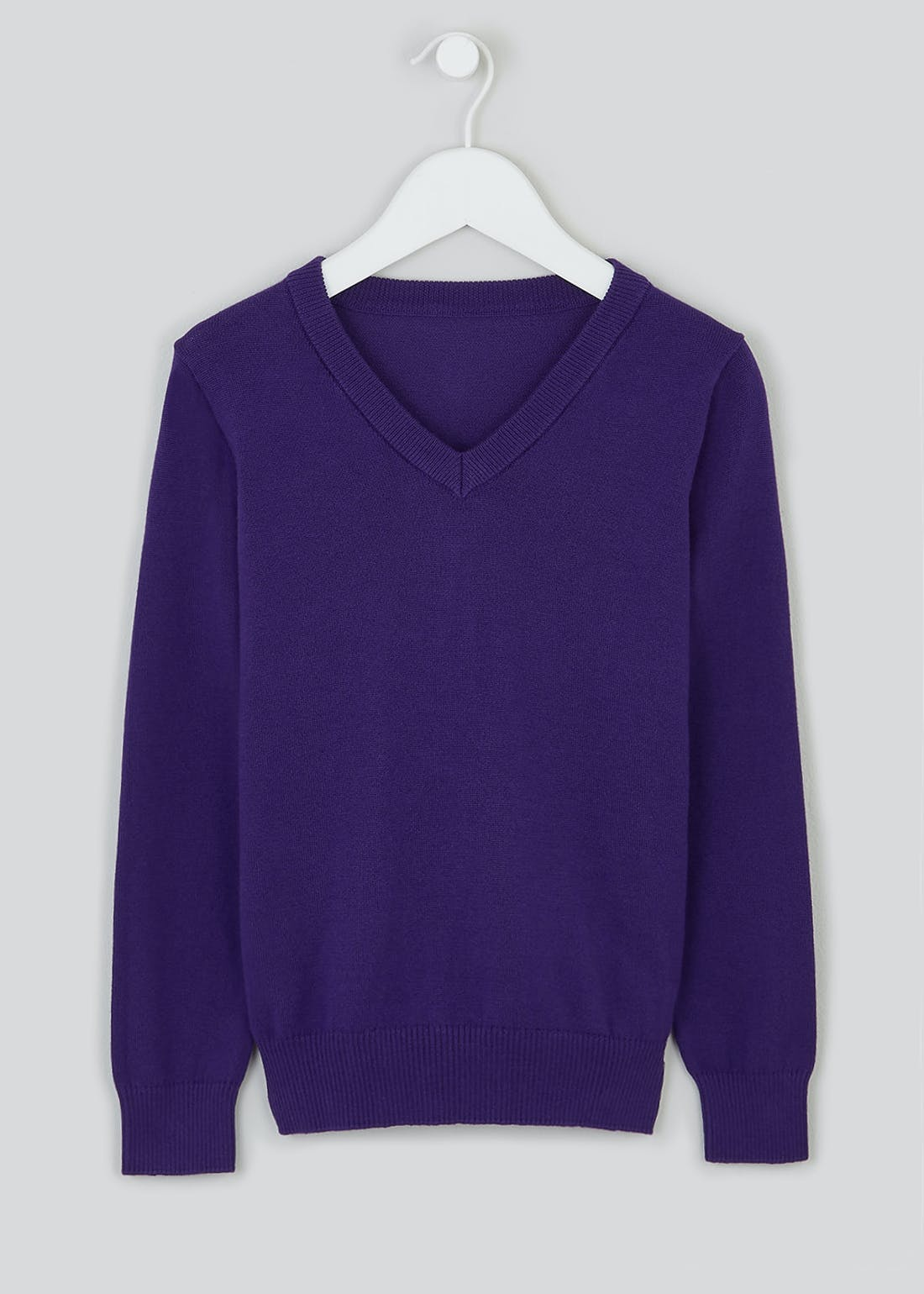 Boys Purple School Jumper (4-13yrs)