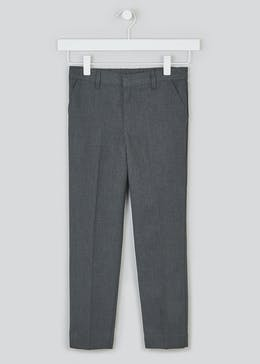 Boys Skinny Fit School Trousers (6-13yrs)