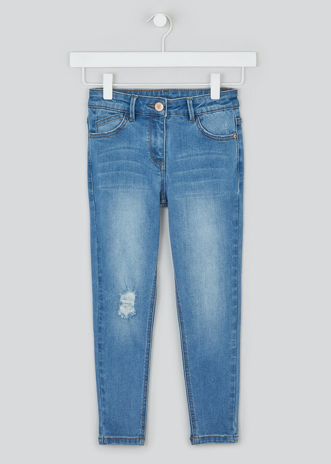 Girls Ripped Jeans (4-13yrs)