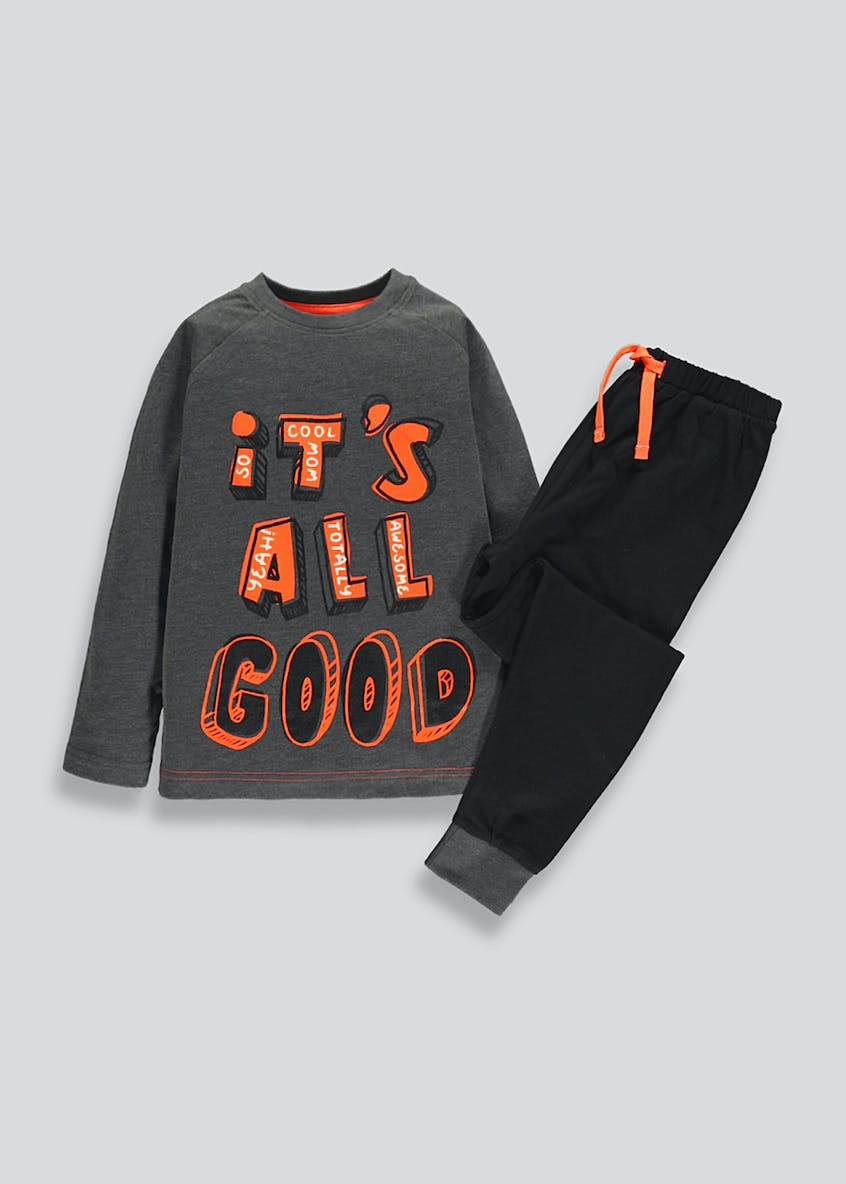 Boys All Good Pyjama Set (4-13yrs)