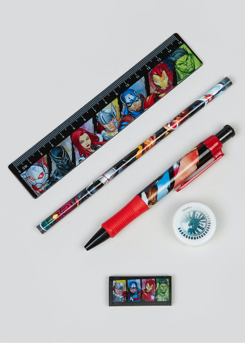 Kids Avengers Stationary Set
