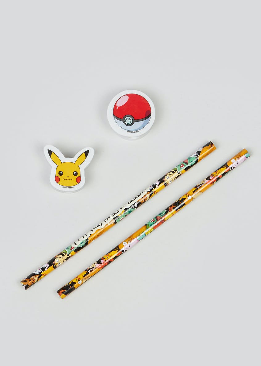 Kids Pokémon Stationary Set
