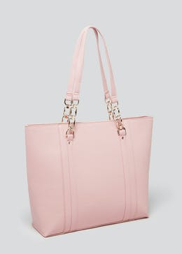 Chain Handle Tote Bag