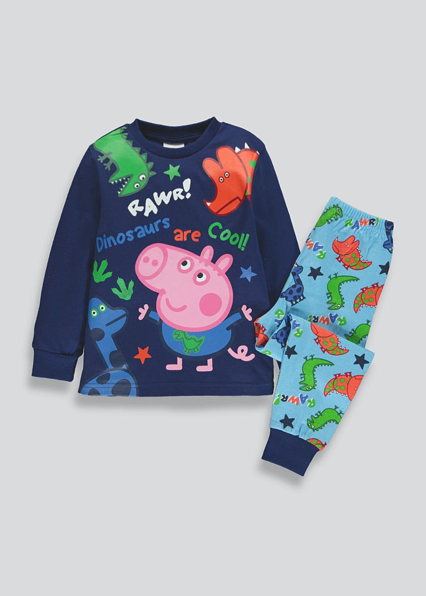 Kids Peppa Pig George Pyjama Set (9mths-5yrs)