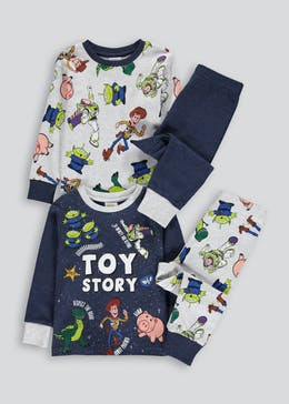 Kids 2 Pack Toy Story Pyjamas (12mths-7yrs)