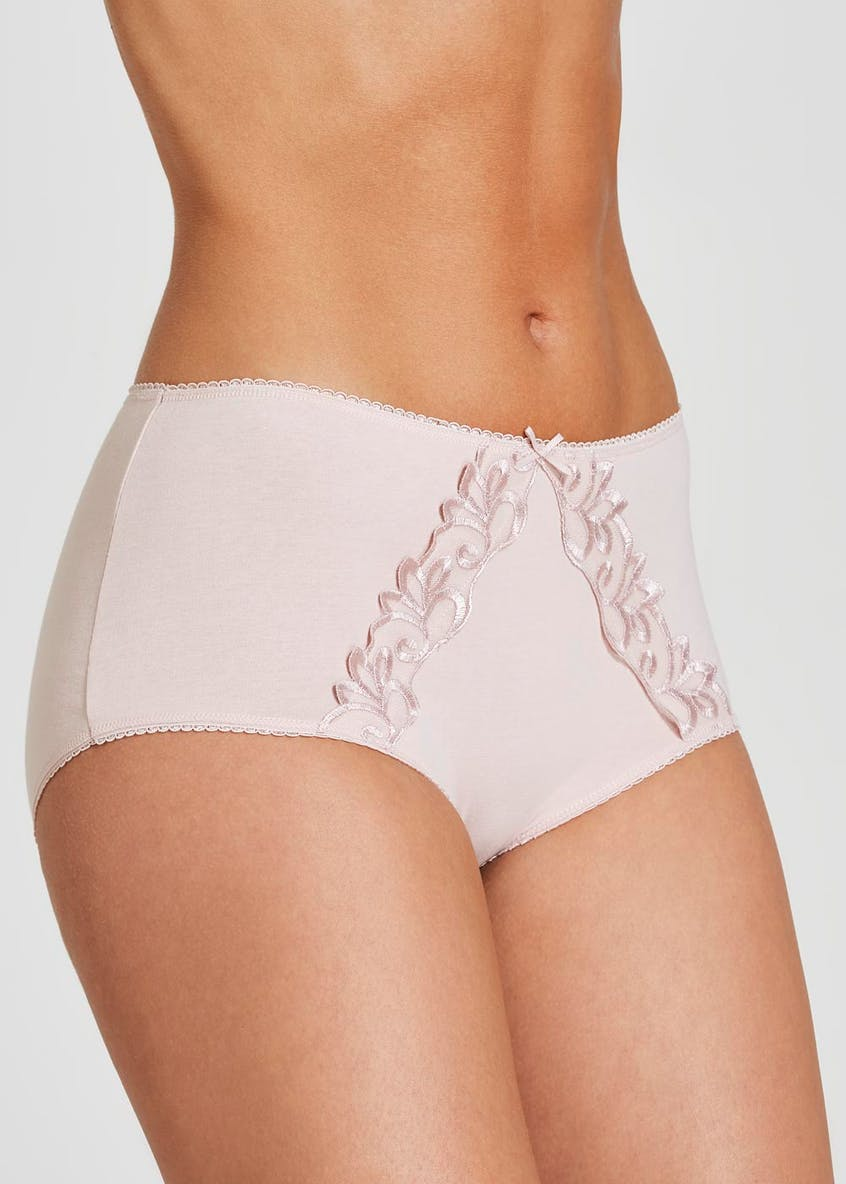 3 Pack Lace Trim Full Knickers