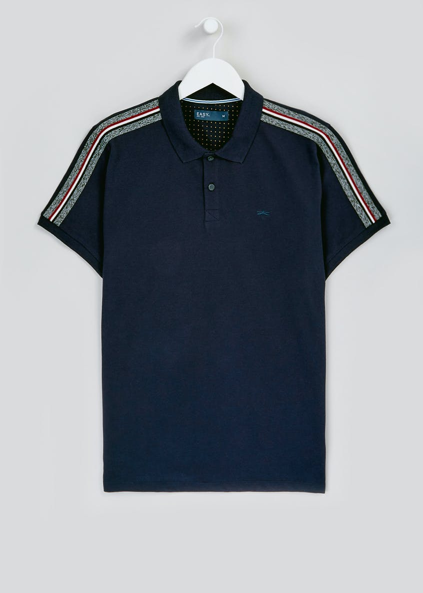 Big & Tall Tape Sleeve Polo Shirt