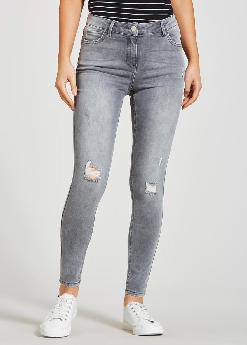 April Ripped Super Skinny Ripped Jeans