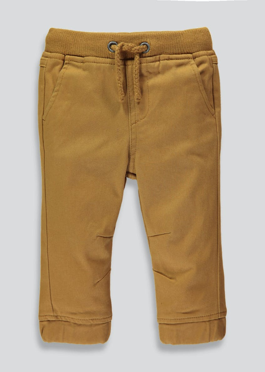 Boys Cuffed Leg Chino Trousers (3mths-6yrs)