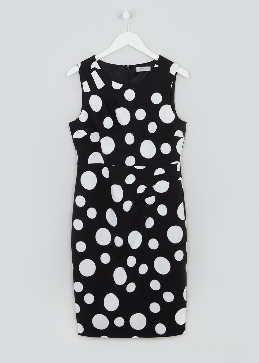 Soon Spot Print Shift Dress