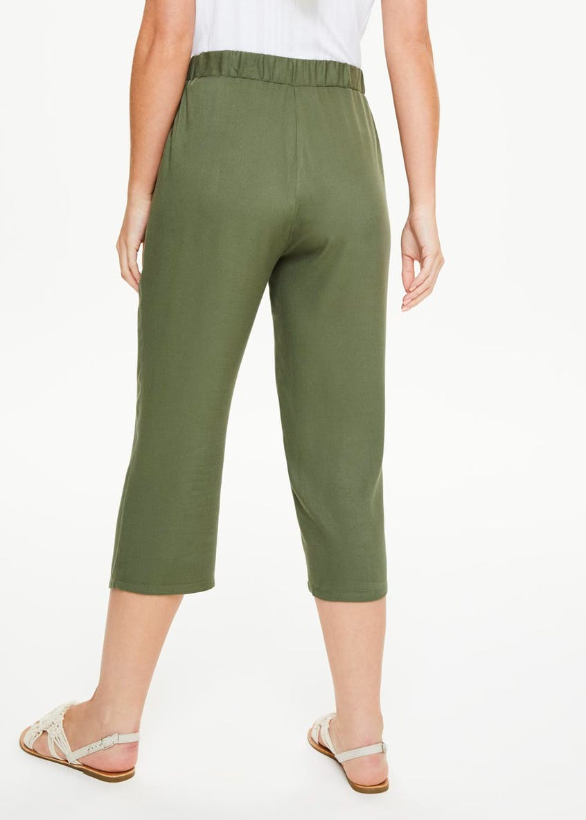 Cropped Utility Trousers