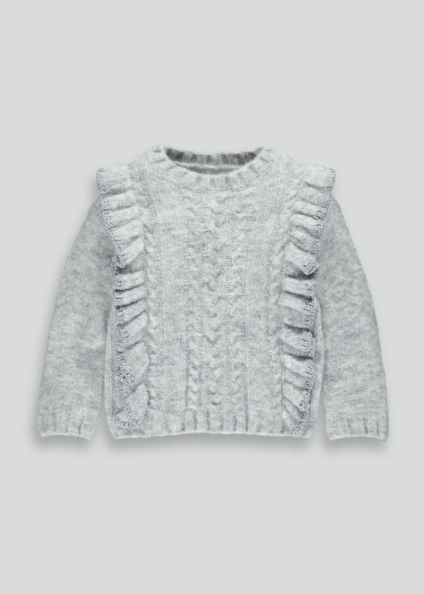 Girls Frill Jumper (9mths-6yrs)