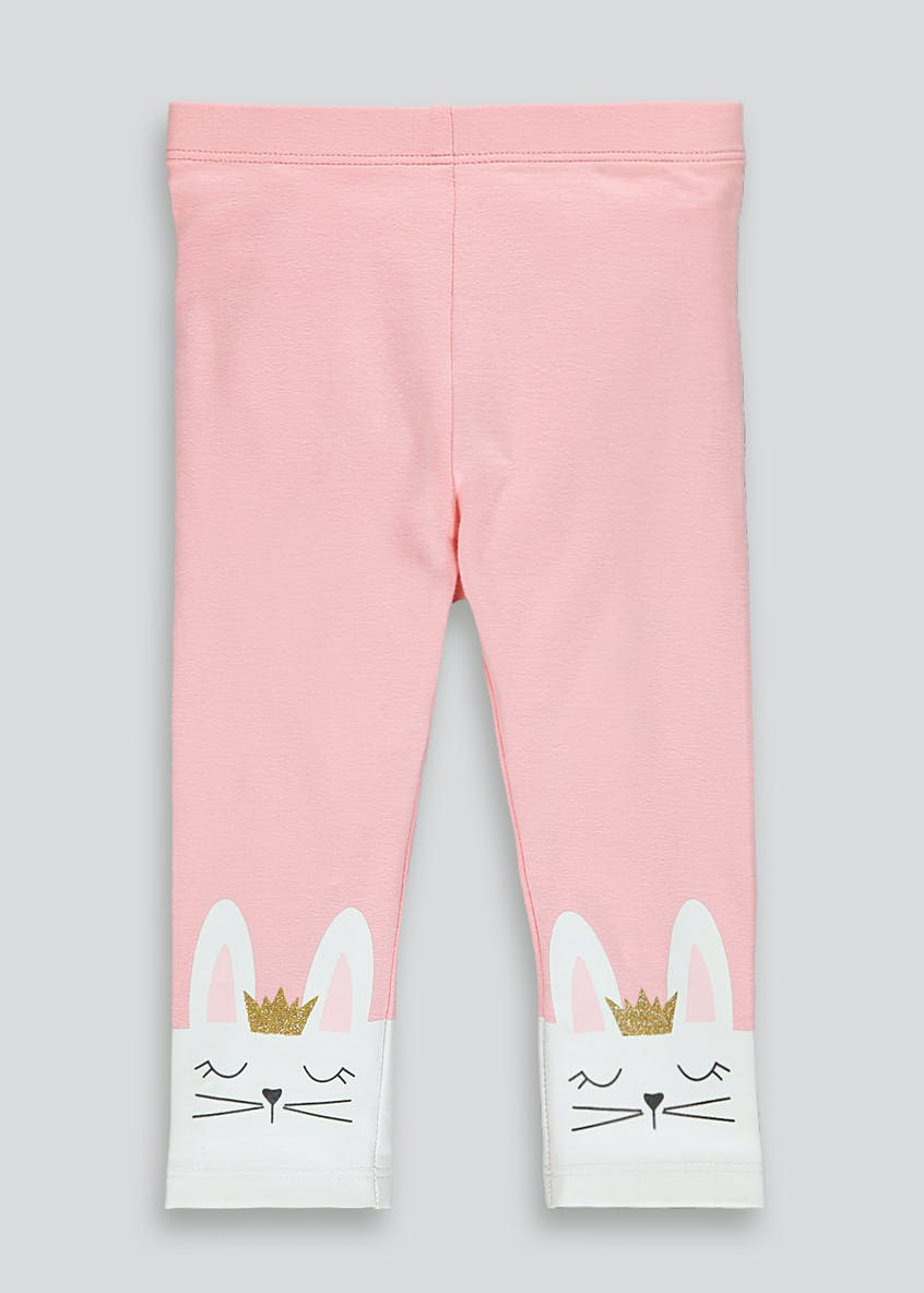 Girls Bunny Hem Leggings (9mths-6yrs)
