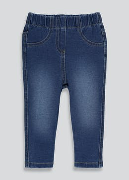 Girls Denim Jeggings