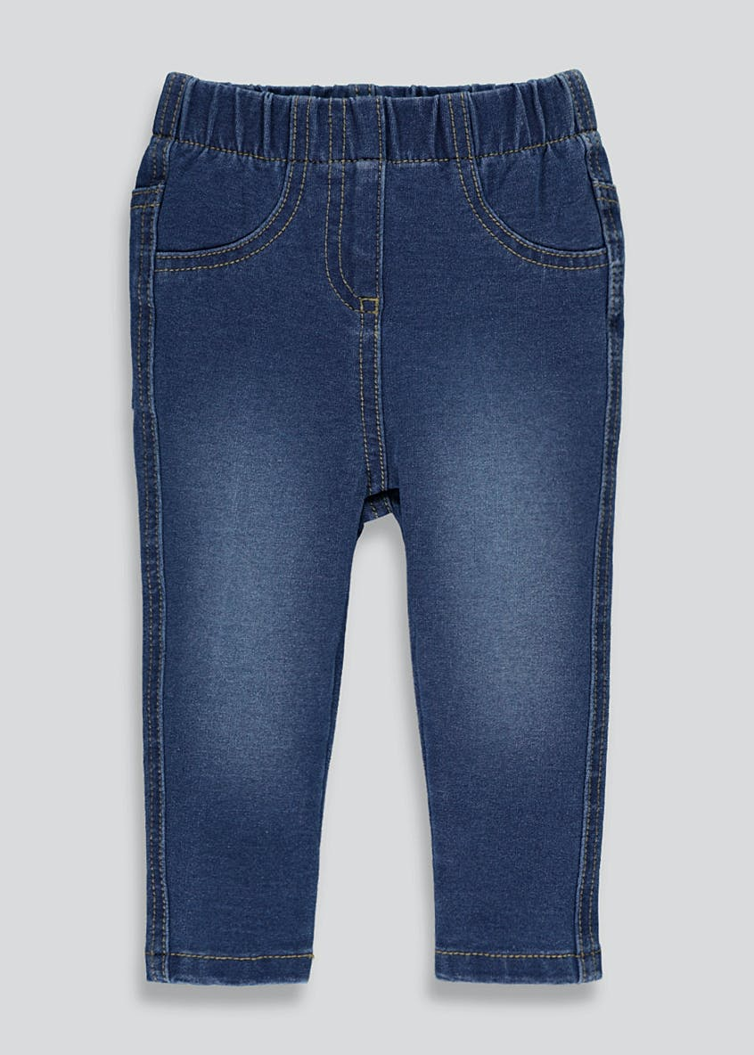 Girls Denim Jeggings (9mths-6yrs)
