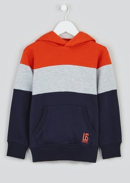 Boys Colourblock Hoodie (4-13yrs)