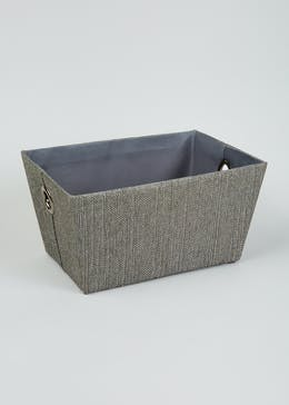 Fabric Storage Tray  (36cm x 25cm x 18cm)
