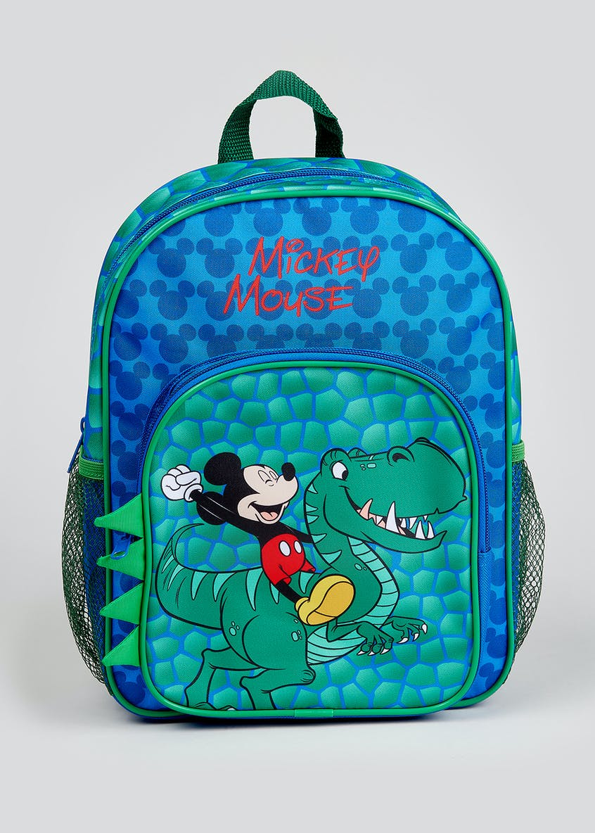 Kids Disney Mickey Mouse Dinosaur Backpack