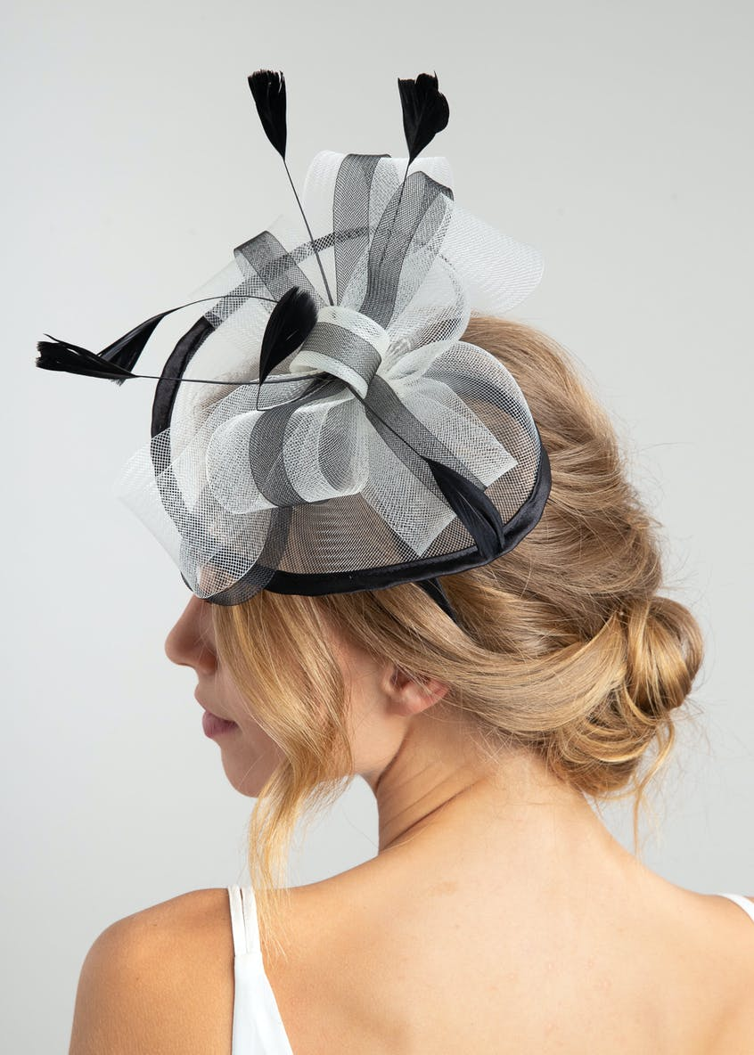 Bow Feather Fascinator