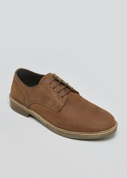 Real Leather Plain Gibson Brogues