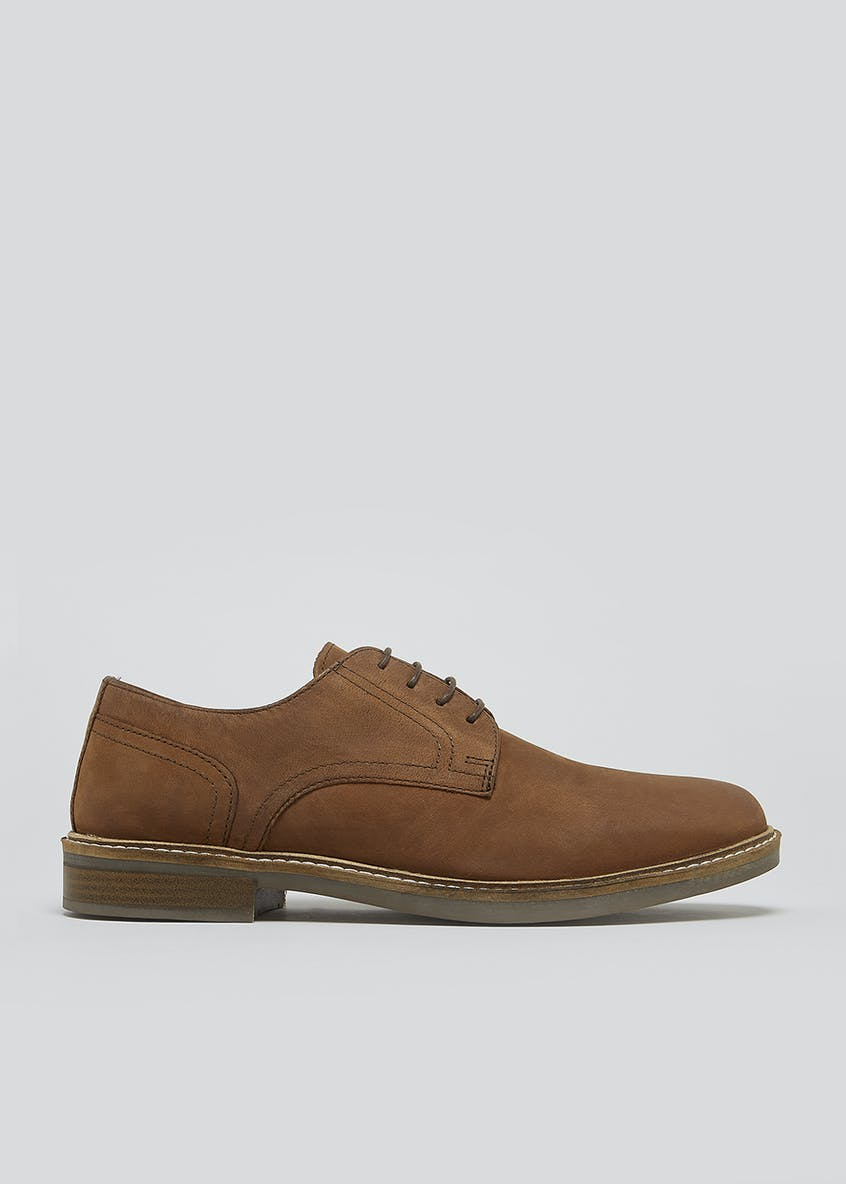 Brown Real Leather Gibson Brogues