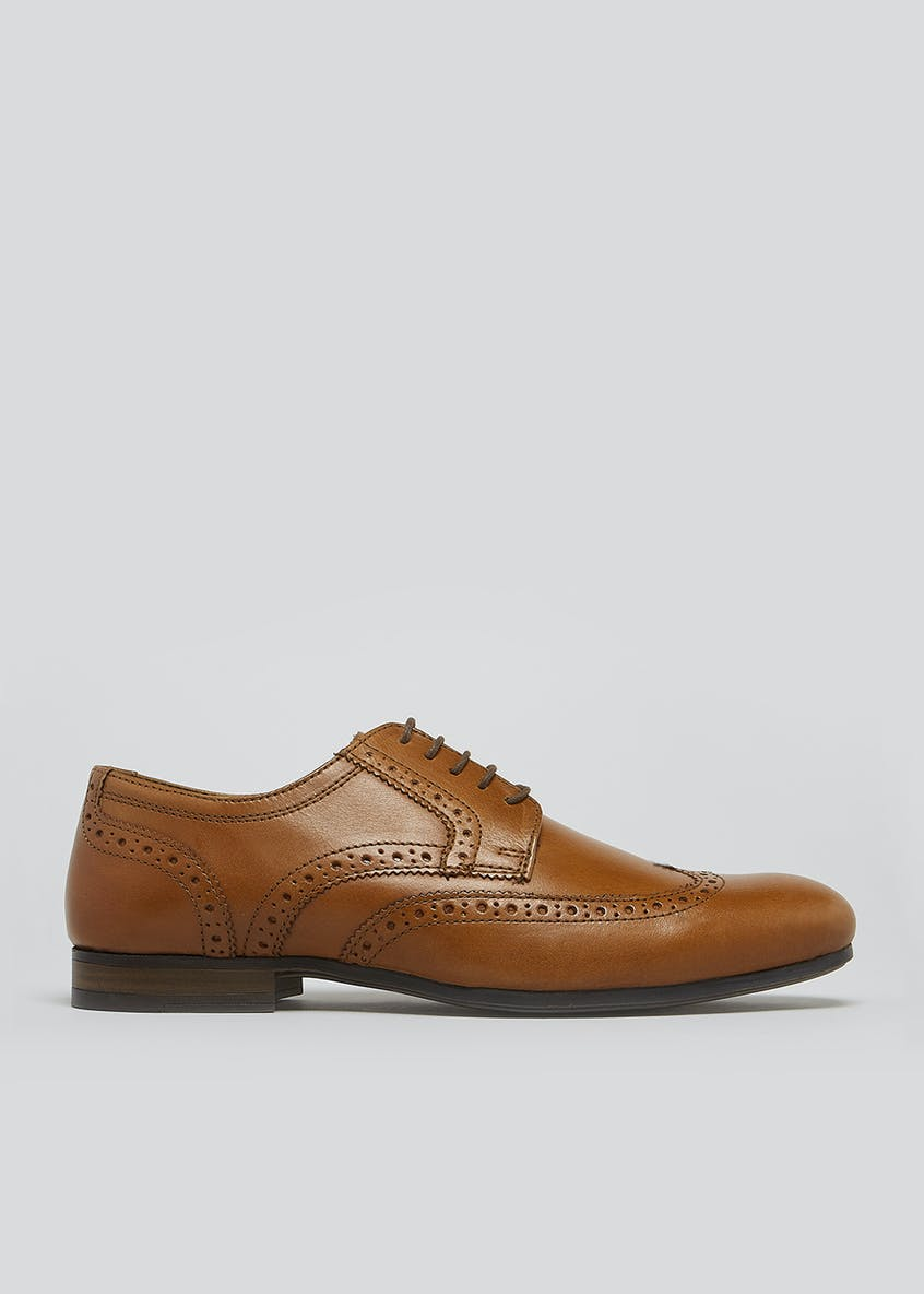 Real Leather Gibson Brogues