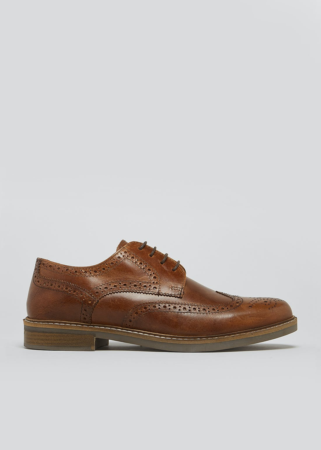 Real Leather Formal Brogues