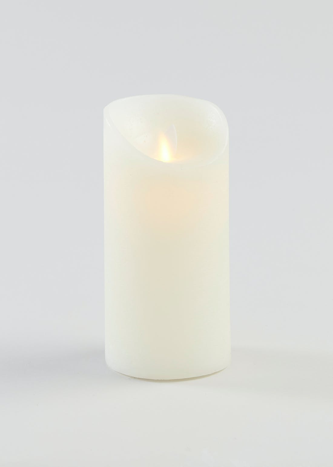 Large LED Pillar Candle (15cm x 8cm)