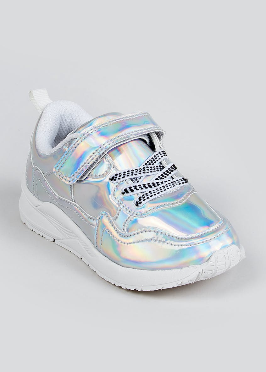 Kids Iridescent Fashion Trainers (Younger 4-12)