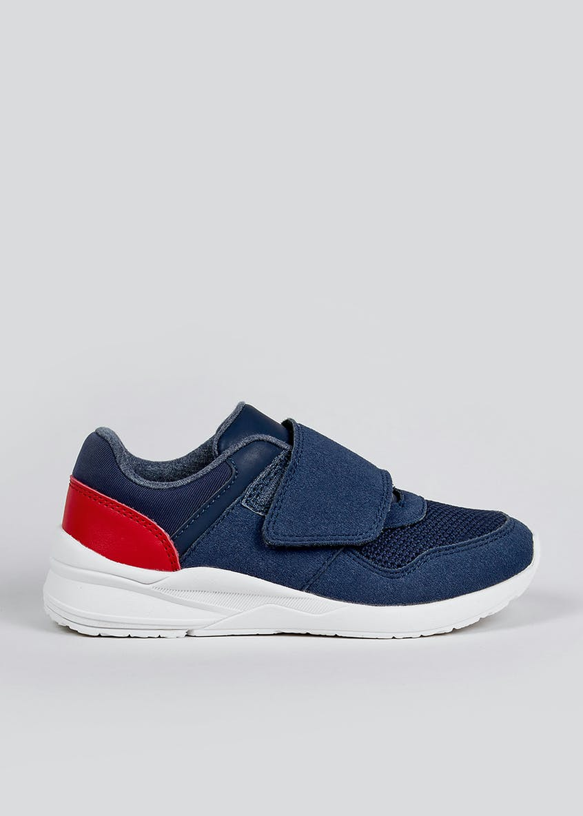 Kids Strap Trainers (Younger 4-12)