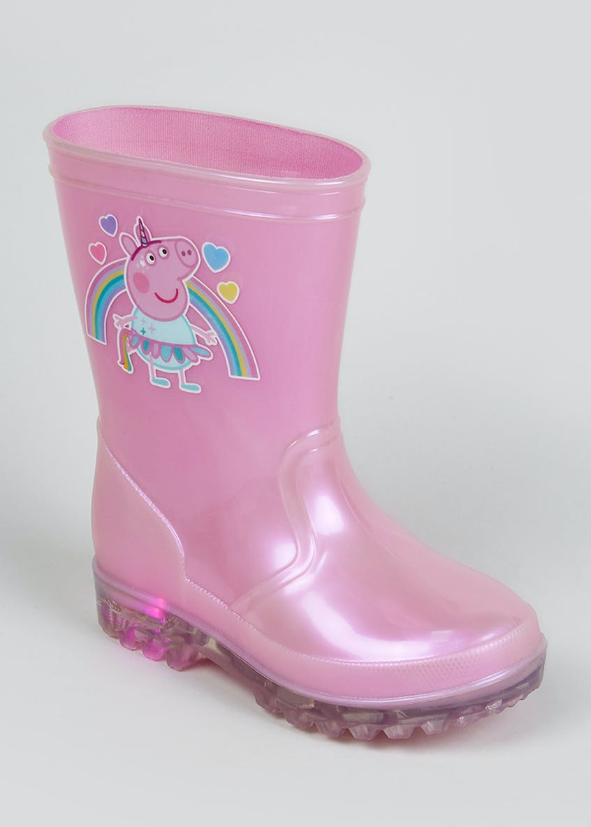 Kids Peppa Pig Light Up Wellies (Younger 4-12)