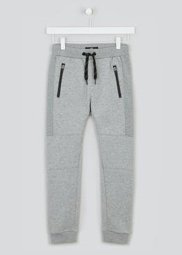 Boys Ribbed Panel Joggers (4-16yrs)