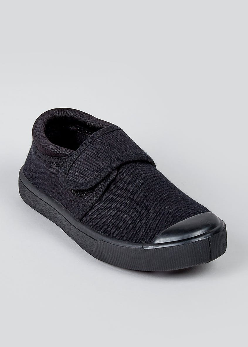 Kids Strap Plimsolls (Younger 7-Older 3)