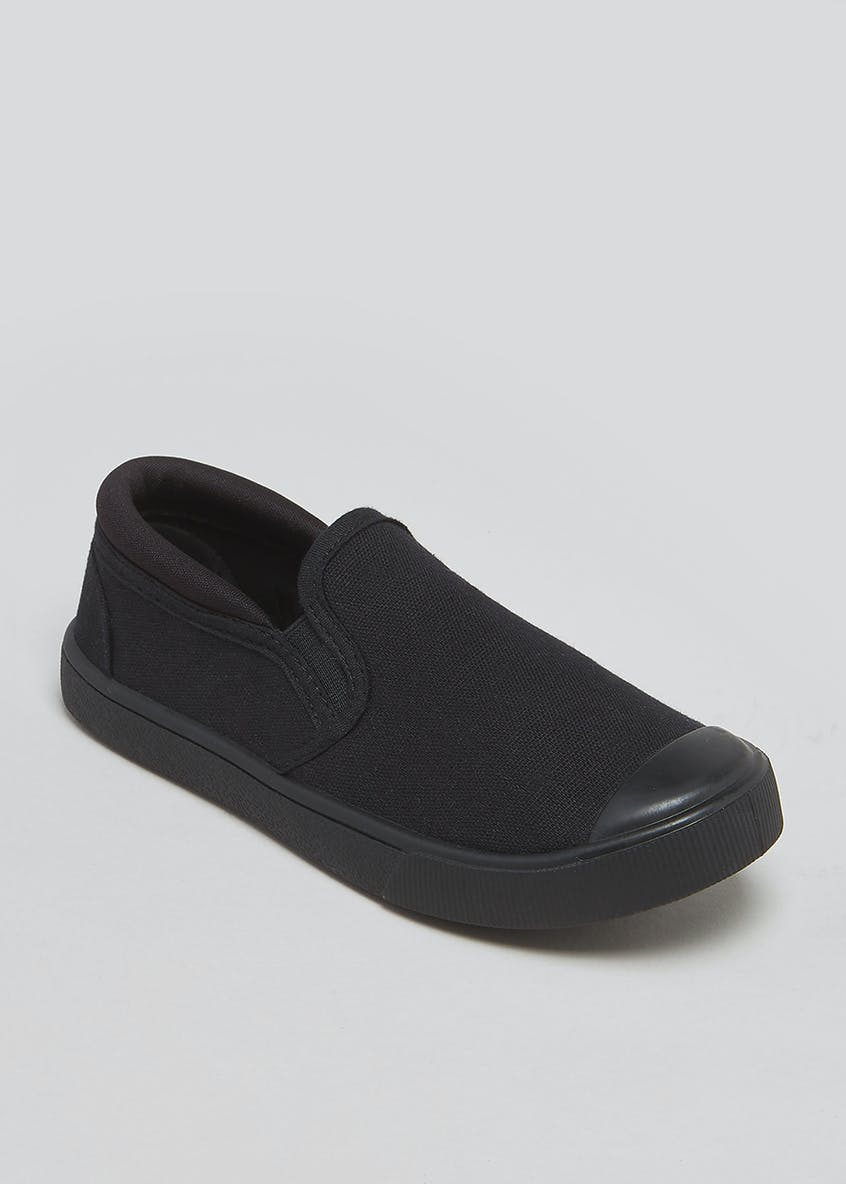 Kids Gusset Plimsolls (Younger 7-Older 3)