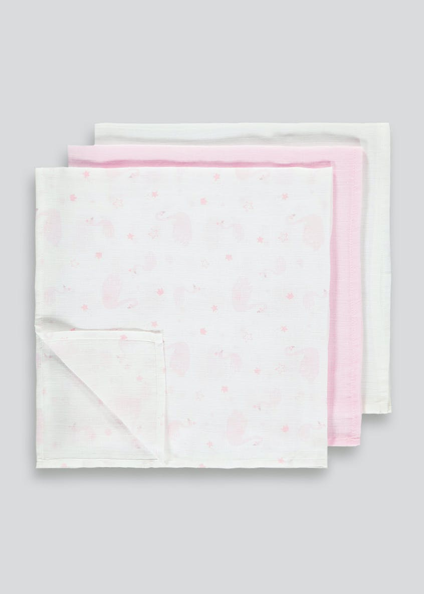 3 Pack Muslin Squares