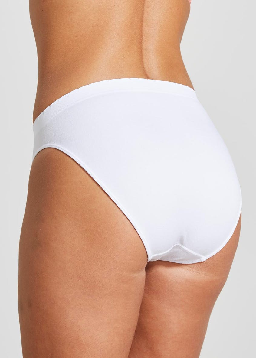 3 Pack Seam Free High Leg Knickers