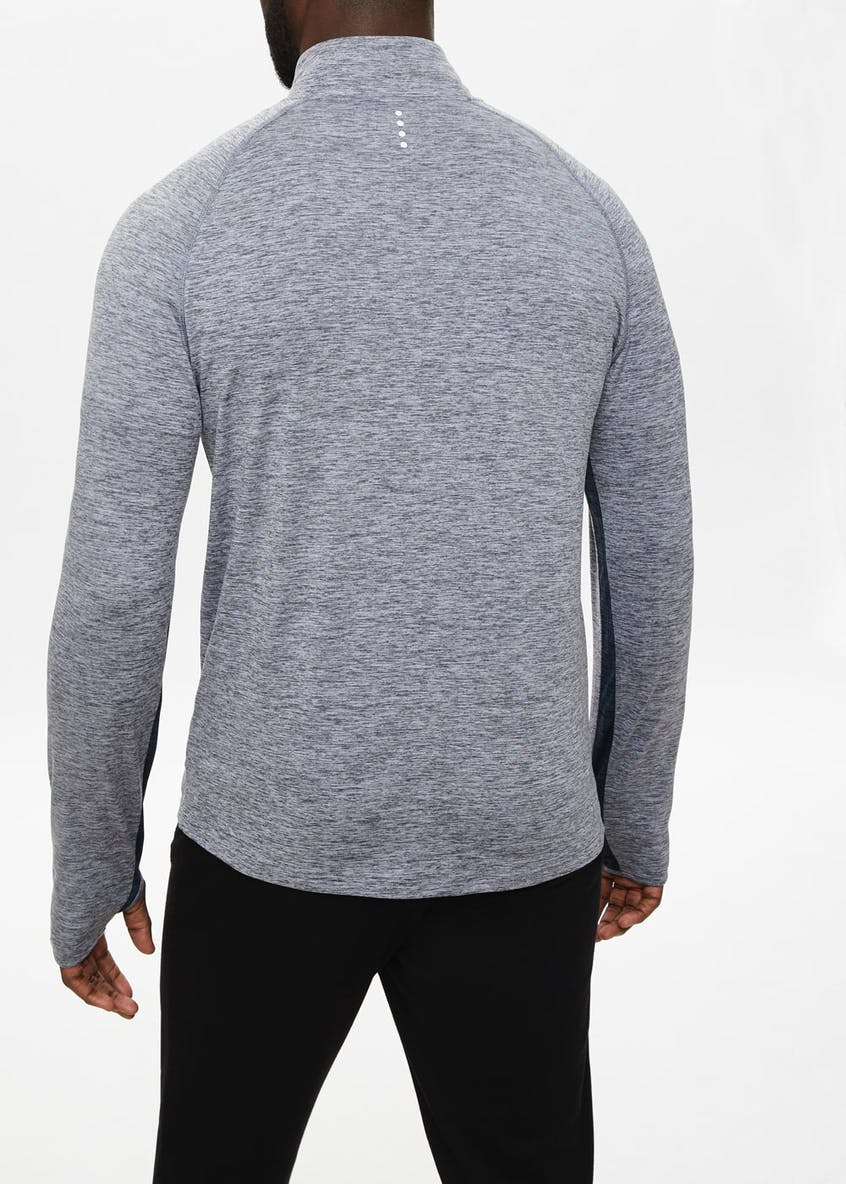 Souluxe Half Zip Sports Sweatshirt