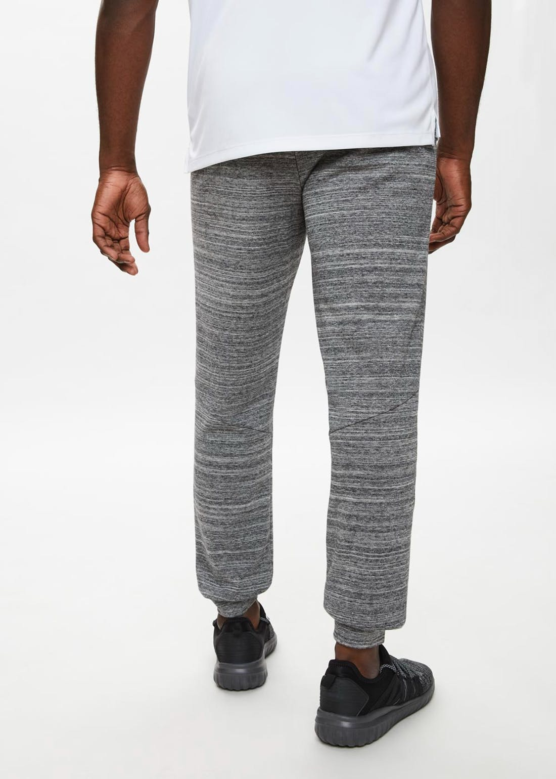 Souluxe Grey Sports Jogging Bottoms