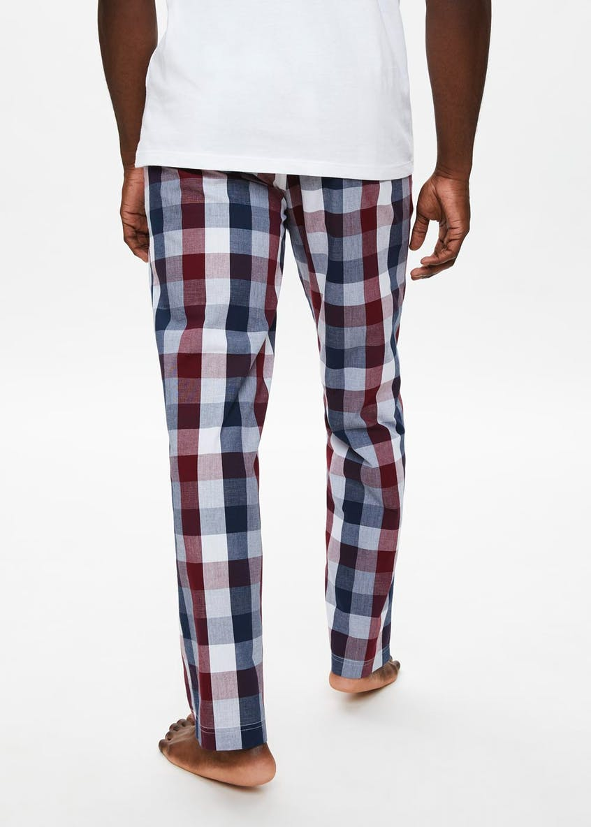 Woven Check Lounge Bottoms