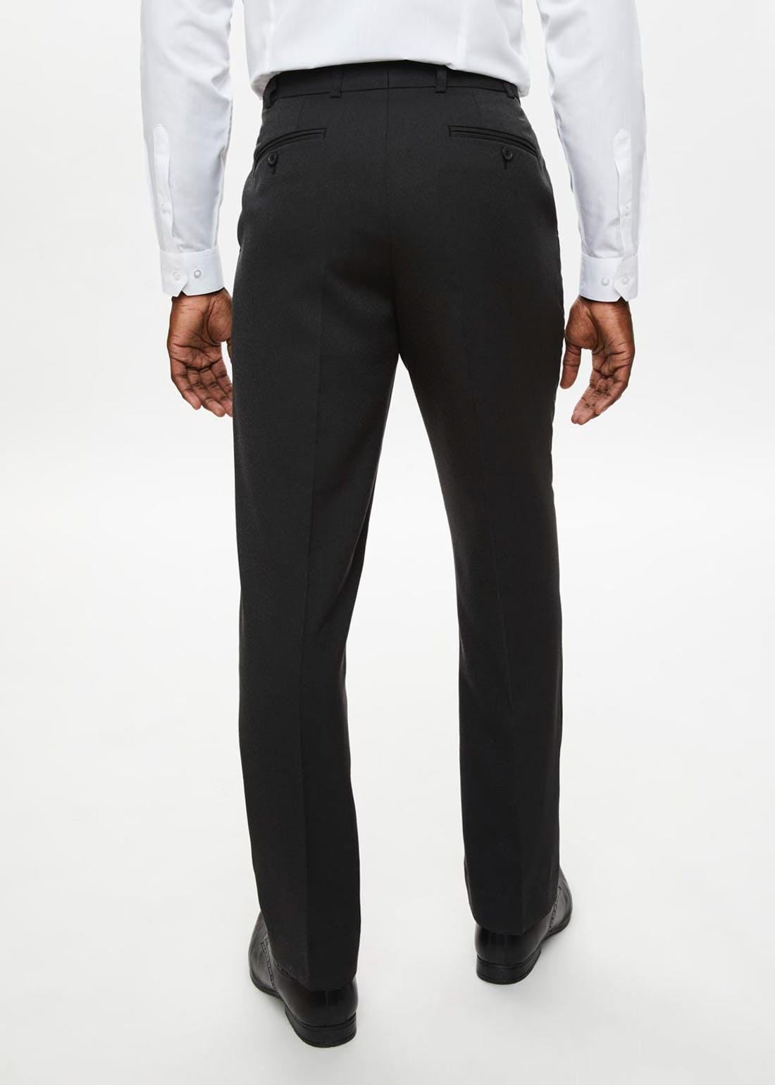 Taylor & Wright Wool Touch Textured Trousers