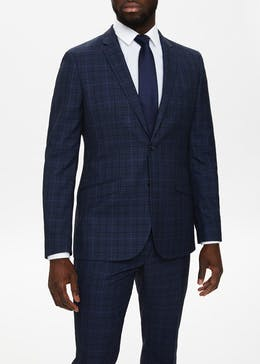 Taylor & Wright Keswick Slim Fit Check Suit Jacket
